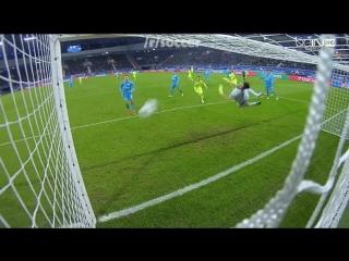 Гент 1:0 Зенит, гол Депуатра