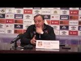 Пресс-конференция Александра Тарханова и Игоря Колыванова после матча