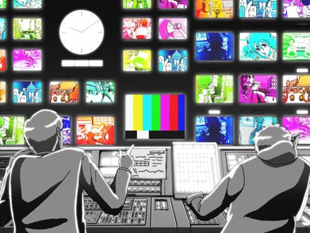 自主制作アニメーション『the TV show』