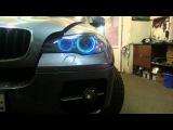 RGB Ангельские глазки на BMW