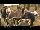 Harry Potter and the Deathly Hallows - Behind the Scenes Footage PART 1