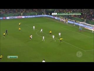 Аугсбург - Боруссия Д (Обзор матча)