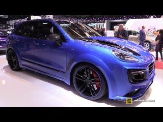 2016 Porsche Cayenne Turbo S TechArt Magnum Sport - Exterior Interior Walkaround