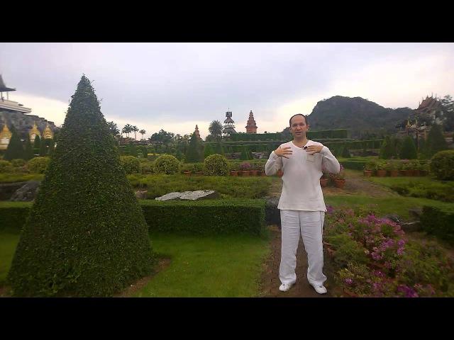 Лечебная Медитация 7-й чакры - Сатья Ео'Тхан - Гранд Мастер Рейки Академия - Паттайя, Тайланд