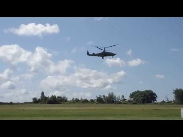 Aerobatics in a military helicopter Высший пилотаж на военном вертолёте