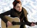 Русская девушка Анастасия на Сборах Славянского Союза поёт под гитару vk