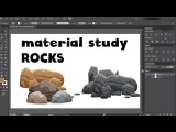 Creating Rocks for Your Mobile Game Art with Adobe illustrator CS6 Free Course Lecture