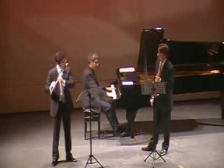 Astor Piazzolla: Oblivion for 2 flutes and piano Andrea Oliva Bulent Evcil Lior Kretzer