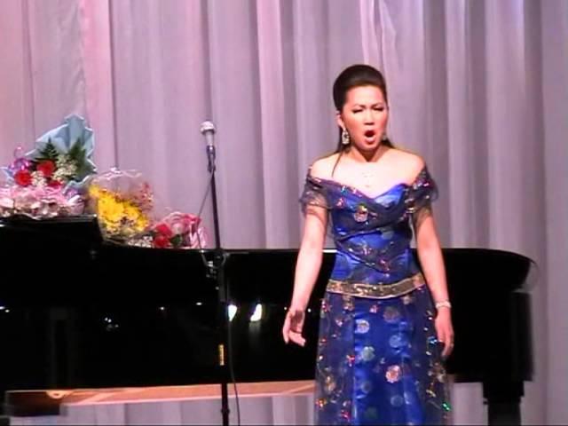 Билигма Ринчинова (сопрано) буряад дуунууд