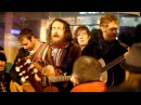 Damien Rice Glen Hansard - Blower's Daughter Creep (Busking on Grafton St Christmas Eve)