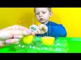 Часы с лимона без электричества. Химичесий опыт дома. Watch with lemon. Experiments at home
