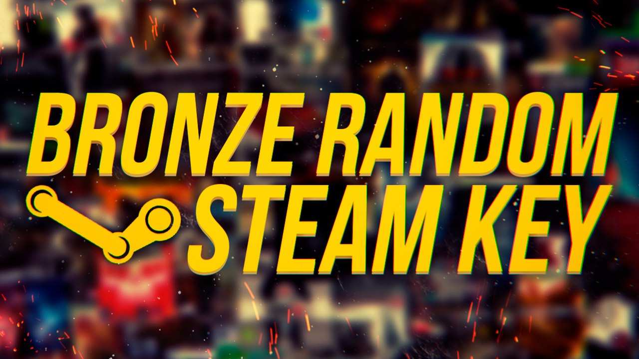 BRONZE RANDOM STEAM KEY