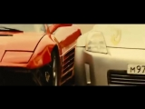 Стритрейсеры(2008) Эпизод гонки Nissan 350Z vs Ferrari F355