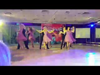 Групповой номер членов клубов и преподавателей GallaDance. Salsa Lifestyle Festival