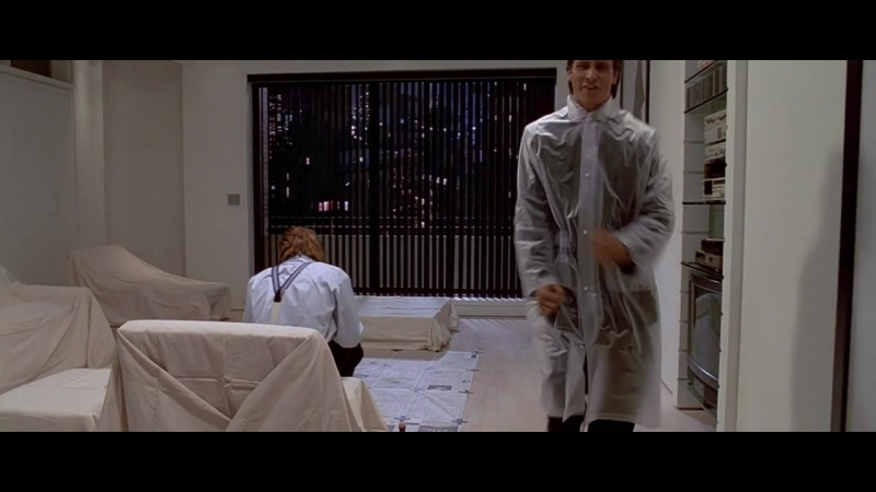 American Psycho Американский психопат отрывок 720p