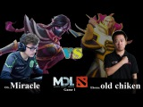 OG vs Ehome | Miracle TA vs Old chiken Invoker | MDL Dota 2 | MarsTV Dota2 League 2015