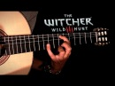 Priscilla's Song - Guitar Cover TABS ( The Witcher 3 Wild Hunt: Wolven Storm )