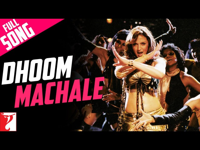 Dhoom Machale - Full Song | Dhoom | Esha Deol | Uday Chopra | Sunidhi Chauhan
