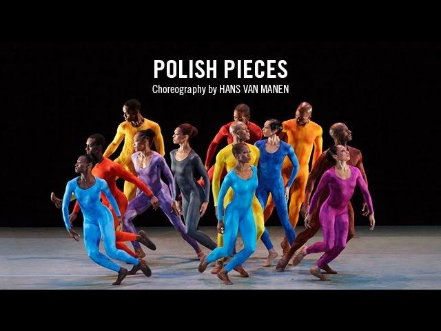 Alvin Ailey: Polish Pieces by Hans van Manen