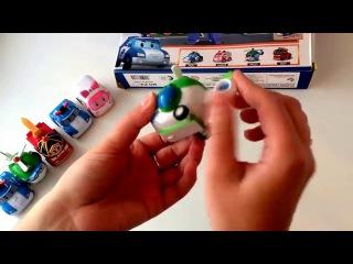 Робокар Поли - игрушки, обзор игрового набора
