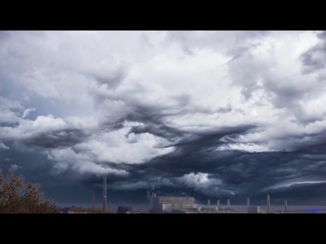 Асператус облака (видео) - Asperatus clouds