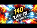 140 Flash FX Elements (After Effects Template)