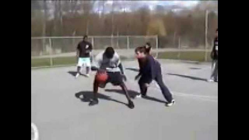 Amazing basketball skill and1 streetball