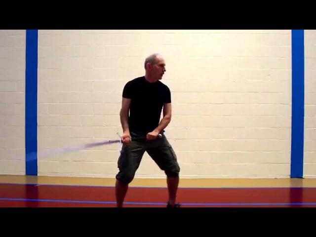 Монтанте практика базовых рубящих Мэтта Галаса