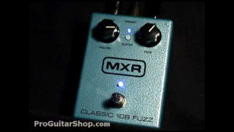 MXR M173 Classic 108 Fuzz Pedal