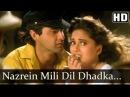 Nazrein Mili Dil Dhadka - Raja Songs - Madhuri Dixit - Sanjay Kapoor - Udit Narayan - Alka Yagnik