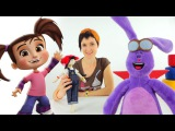 Маша и мультфильм Катя и Мим Мим. 3D мультики для детей и видео про игрушки