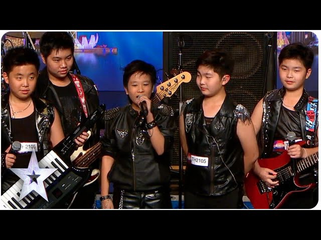 Young Rockers The Talento Bring The Noise | Asia's Got Talent 2015 Ep 2
