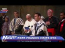 Cantor Azi Schwartz with Pope Francis and 9-11 Memorial Museum