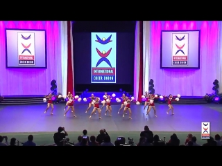 2015 ICU Worlds [Team Cheer Freestyle Pom] Japan (silver!)