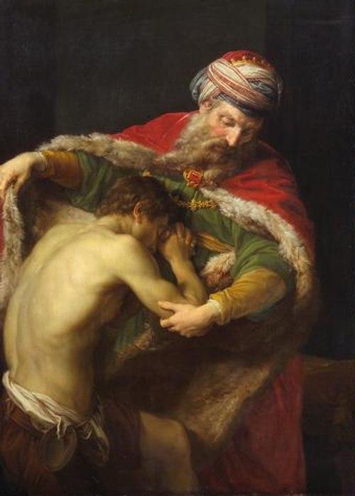 «Повратак блудног сина», Помпео, 1773. година