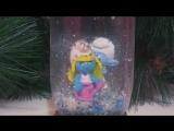 Новогодние поделки #1_Как сделать снежный шар _ How to make a snowing ball