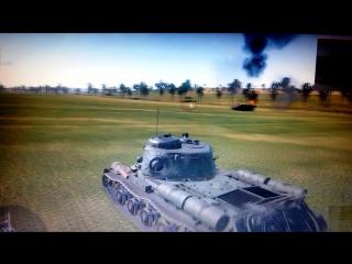 Советский тяжёлый танк ИС-2 образца 1944 года истребитель тигров!!!!