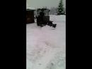 Покатушки на тракторе)
