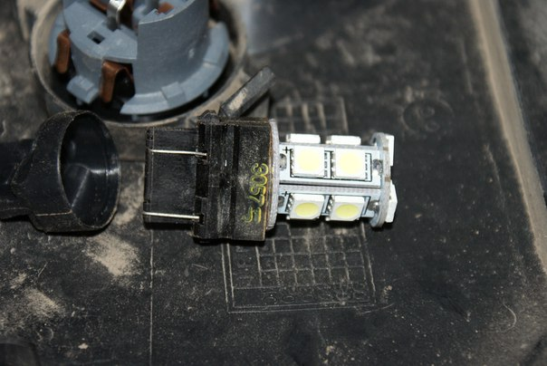 Замена лампочек на LED