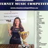 INTERNET MUSIC COMPETITION www.musiccompetition.