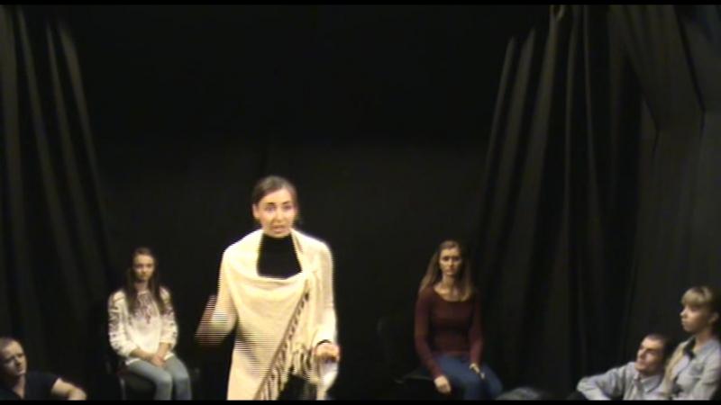 Отчетный показ по сценической речи (поэзия) 4.12.2015