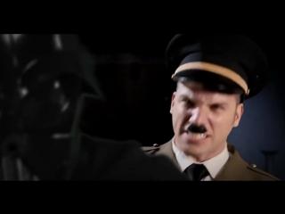 Адольф Гитлер vs Дарта Вейдера 1,2,3.Эпичные Рэп Битвы Истории! (Русская версия)