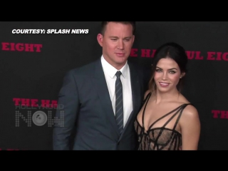 (video) hot couple alert! channing tatum, jenna dewan tatum sizzle on red carpet