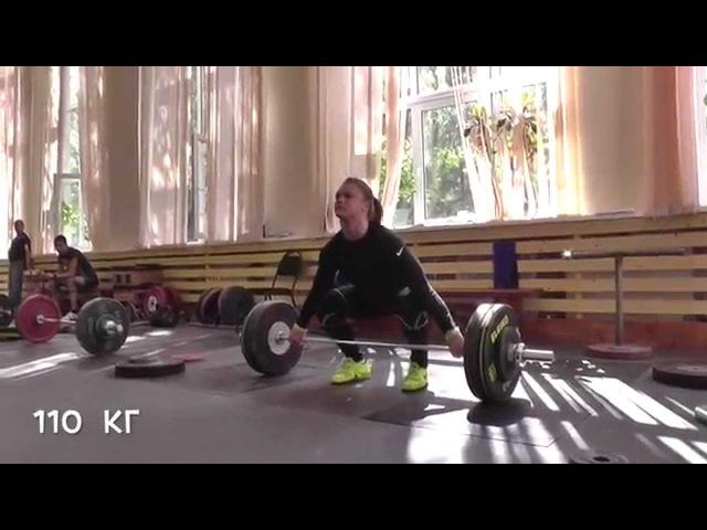 Тяжелая атлетика Талант это вера в свою силу Ольга Зубова ЗМС России