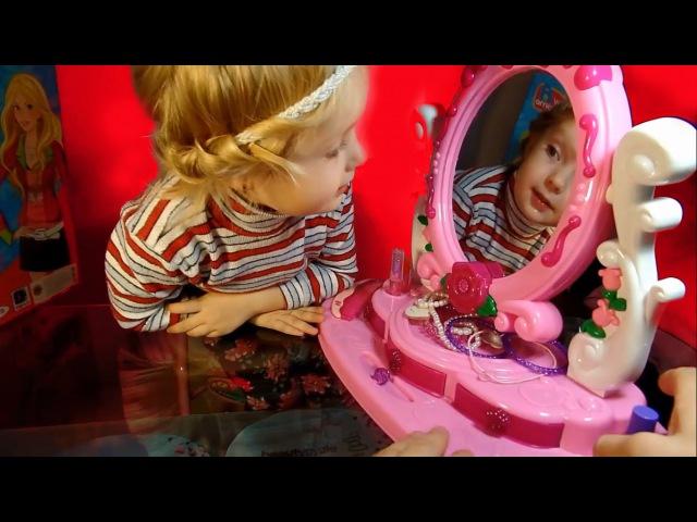 【Ⓜ】Часть 2 Детский набор , Набор Красоты для девочек Волшебное Зеркало Сказка с Принцессами Обзор