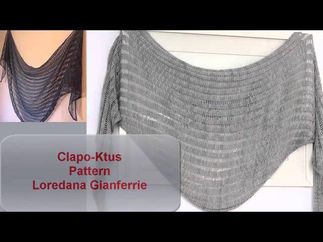 Clapotis или Clapo-Ktus -очень простой бактус или шарф
