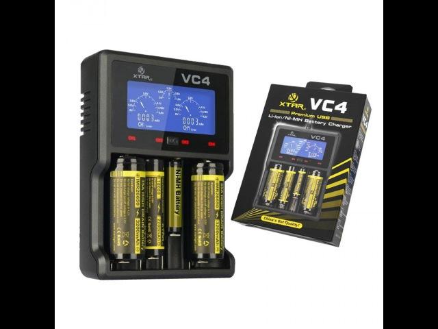 Умное зарядное устройство XTAR VC4 обзор