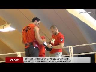 Володимир Кличко завершив дебютну частину підготовку до поєдинку із Тайсоном Фьюрі