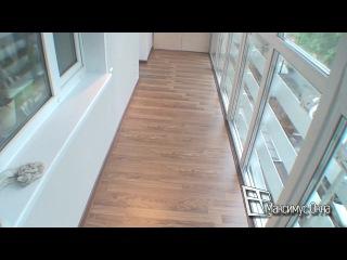 За стеклить балкон до пола..