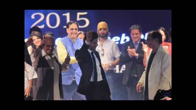 Shah Rukh Khan | 2015 Charms at Dadasaheb Phalke Film Foundation awards Watch Out Video!